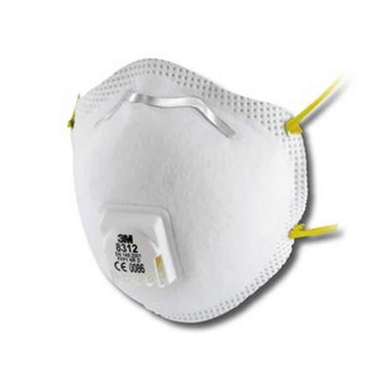 3M Comfort - Stofmasker met ventiel 8312