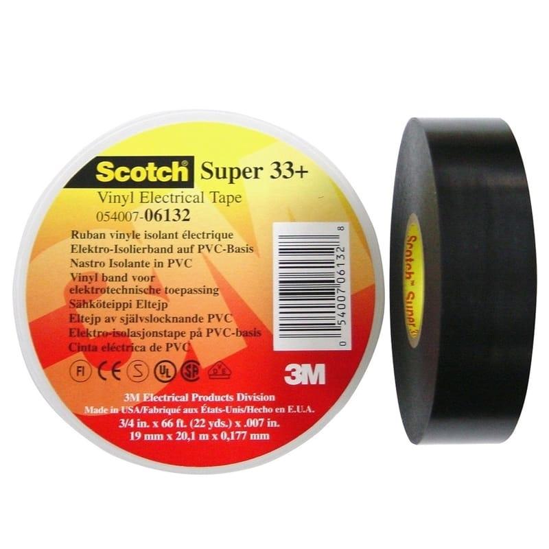 3M Scotch Super 33+ - PVC tape 331920