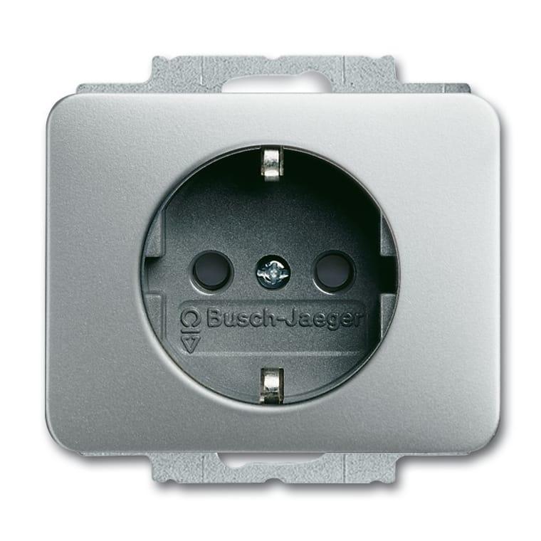 abb busch jaeger alpha exclusive wandcontactdoos 20. Black Bedroom Furniture Sets. Home Design Ideas