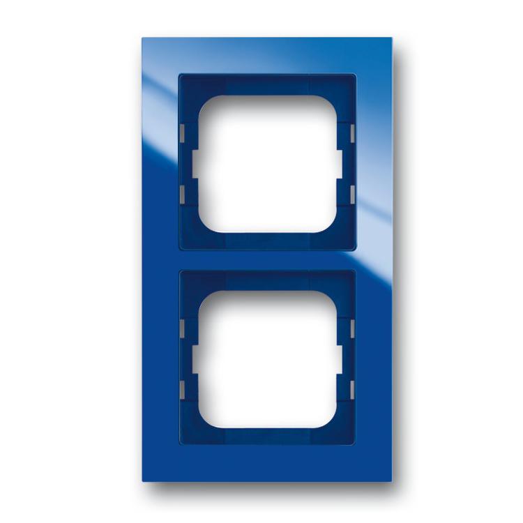 abb busch jaeger axcent afdekraam 1722 288 blauw. Black Bedroom Furniture Sets. Home Design Ideas
