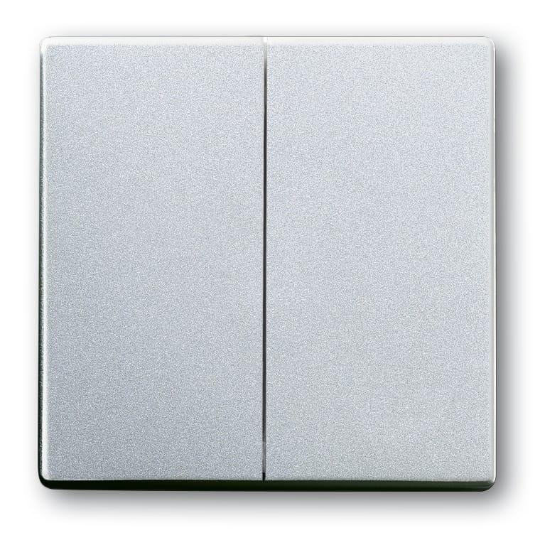 abb busch jaeger future linear bedieningswip 1785 83 aluzilver. Black Bedroom Furniture Sets. Home Design Ideas
