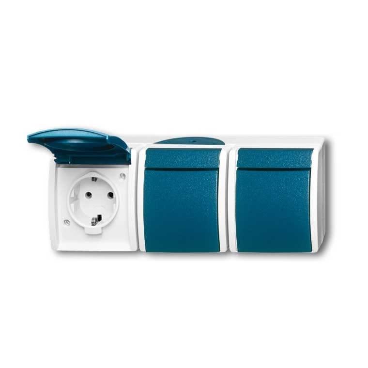 scrhijf een review voor abb busch jaeger ocean ip44. Black Bedroom Furniture Sets. Home Design Ideas