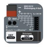 ABB Busch-Jaeger Busch-free@home - Binaire ingang 6241/4.0 U 4 ingangen
