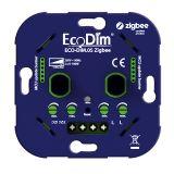 EcoDim Smart - Duo dimmer ECO-DIM.05 Zigbee Druk/draai