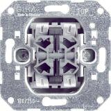 Gira Basiselement - Impulsdrukker 014700 4xmaak serie