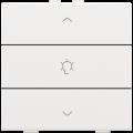 Niko Home Control - Bedieningstoets 154-51043 Alpinwit