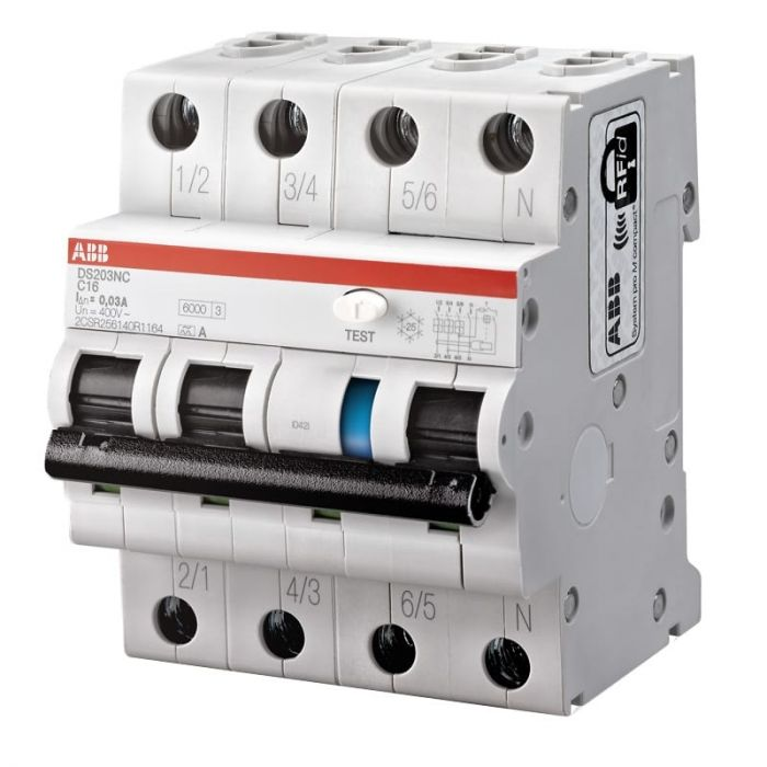 Bekend ABB Haf System Pro M - Aardlekautomaat 2CSR256140R1165 GY96