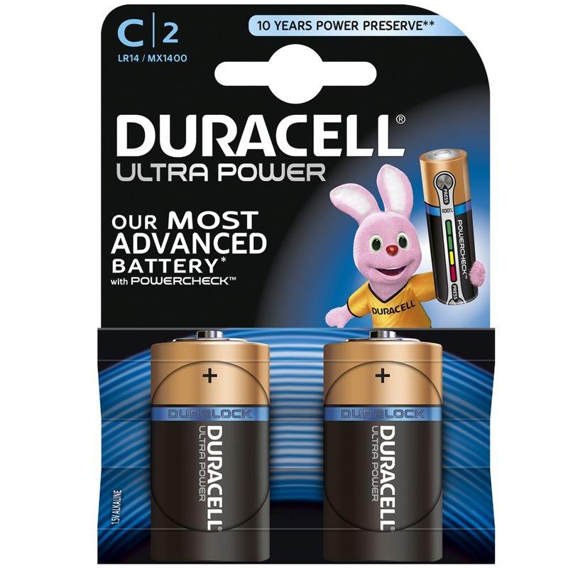 Duracell Ultra Power - C batterij PLUS POWER C X2