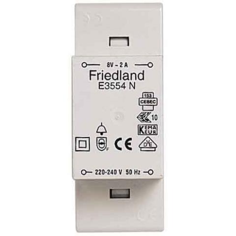 Friedland Honeywell VDE - Beltransformator E3554N