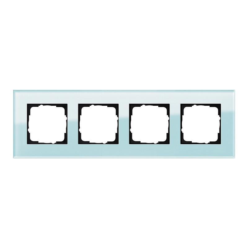esprit glas mint wit gira. Black Bedroom Furniture Sets. Home Design Ideas