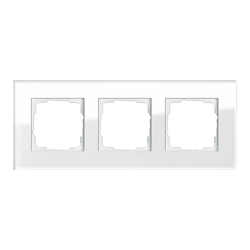gira esprit glas afdekraam 021312 alpinwit. Black Bedroom Furniture Sets. Home Design Ideas