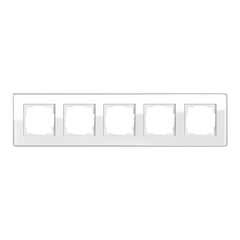 gira esprit glas c afdekraam 0215512 alpinwit. Black Bedroom Furniture Sets. Home Design Ideas