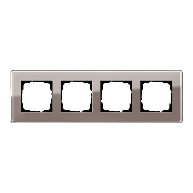 gira esprit glas c afdekraam 0214522 ombergrijs. Black Bedroom Furniture Sets. Home Design Ideas