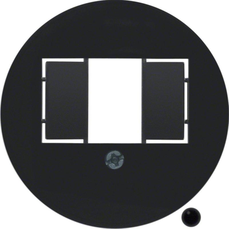 serie 1930 zwart hager berker. Black Bedroom Furniture Sets. Home Design Ideas