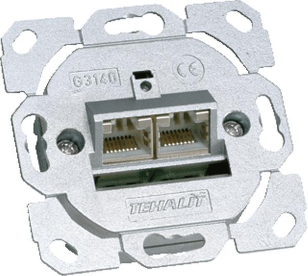 Hager Tehalit BRN - Datacontactdoos G3140