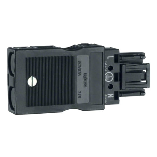 Hager Tehalit BRN - Ingangsconnector G4703