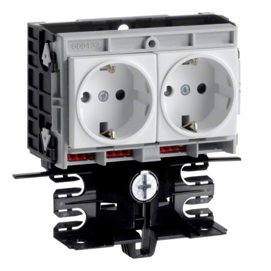 Hager Tehalit SL - Frame contactdoos SL200559409010