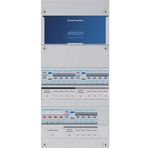 Hager Vision - Groepenkast VKG444L