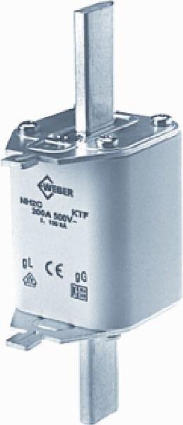 Hager Weber.Fuses - Mespatroon LNH2250T