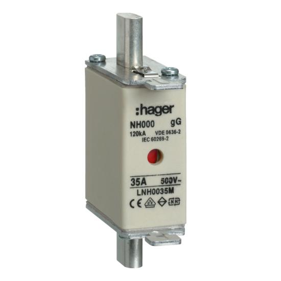 Hager Weber.fuses - Mespatroon LNH0035M