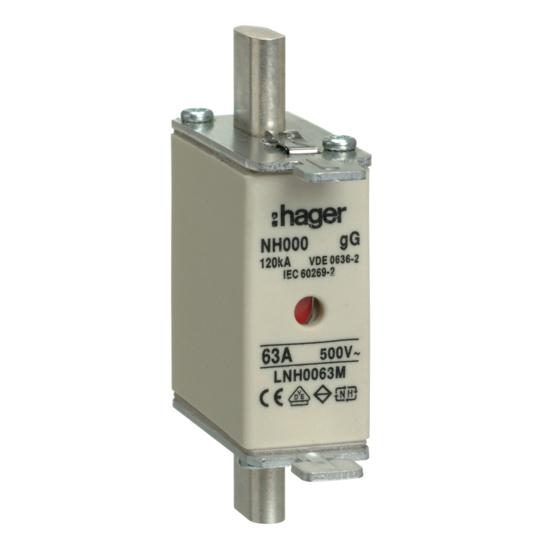 Hager Weber.fuses - Mespatroon LNH0063M