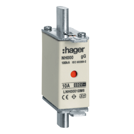 Hager Weber.fuses - Mespatroon LNH00080M6