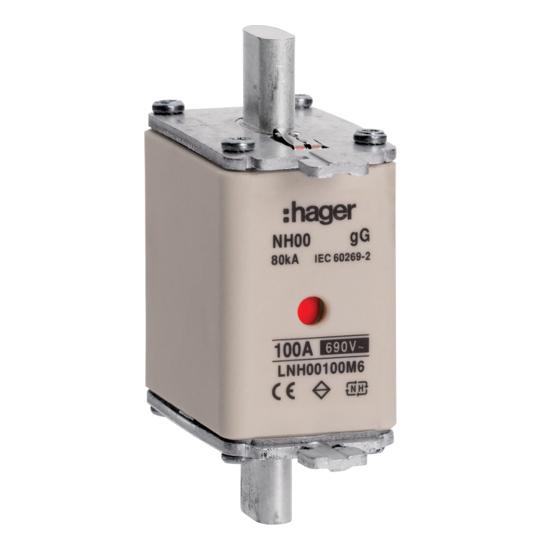 Hager Weber.fuses - Mespatroon LNH00100M6
