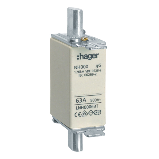 Hager Weber.fuses - Mespatroon LNH00063T