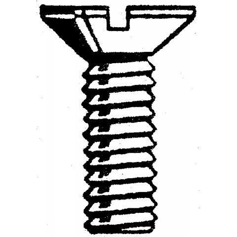 Hoenderdaal 1601 - Metaalschroef 1601.01.13001