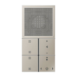 jung ls range radio ranes2914 edelstaal. Black Bedroom Furniture Sets. Home Design Ideas