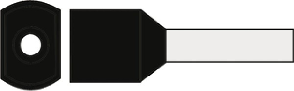 Klauke 8 Twin - Adereindhuls 8728