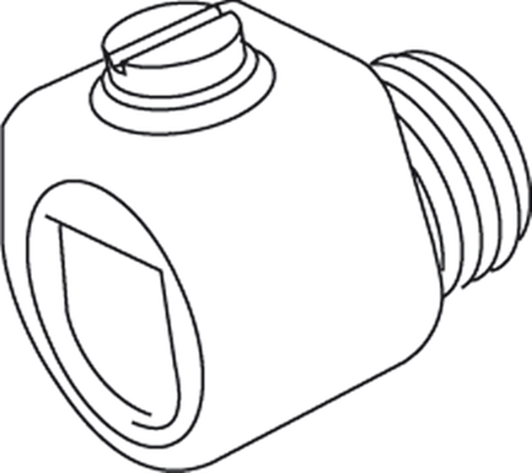 Kleinhuis Accessoires - Snoerklemnippel 434W