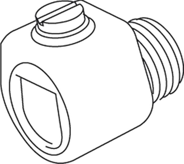 Kleinhuis Accessoires - Snoerklemnippel 570051