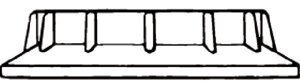 Koula & Dikkers 100 - Ring lamphouder 40.10.00.230