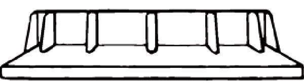 Koula & Dikkers 100 - Ring lamphouder 40.10.00.090