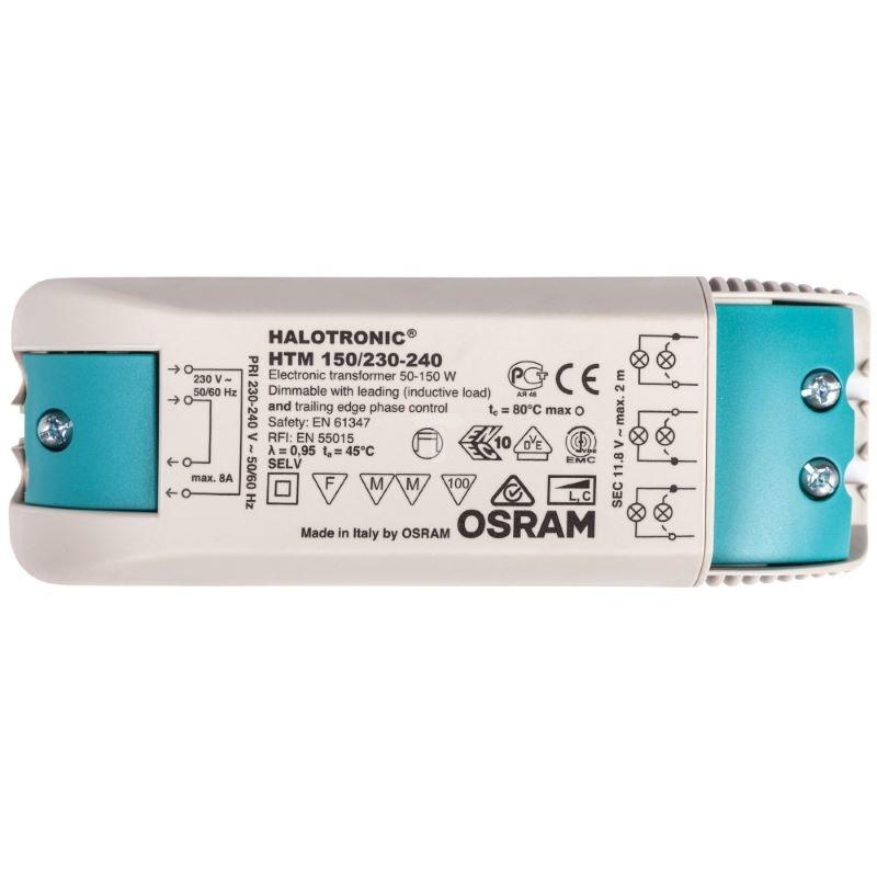 Osram Halotronic Compact - Transformator laagvolt lichtsysteem HTM150