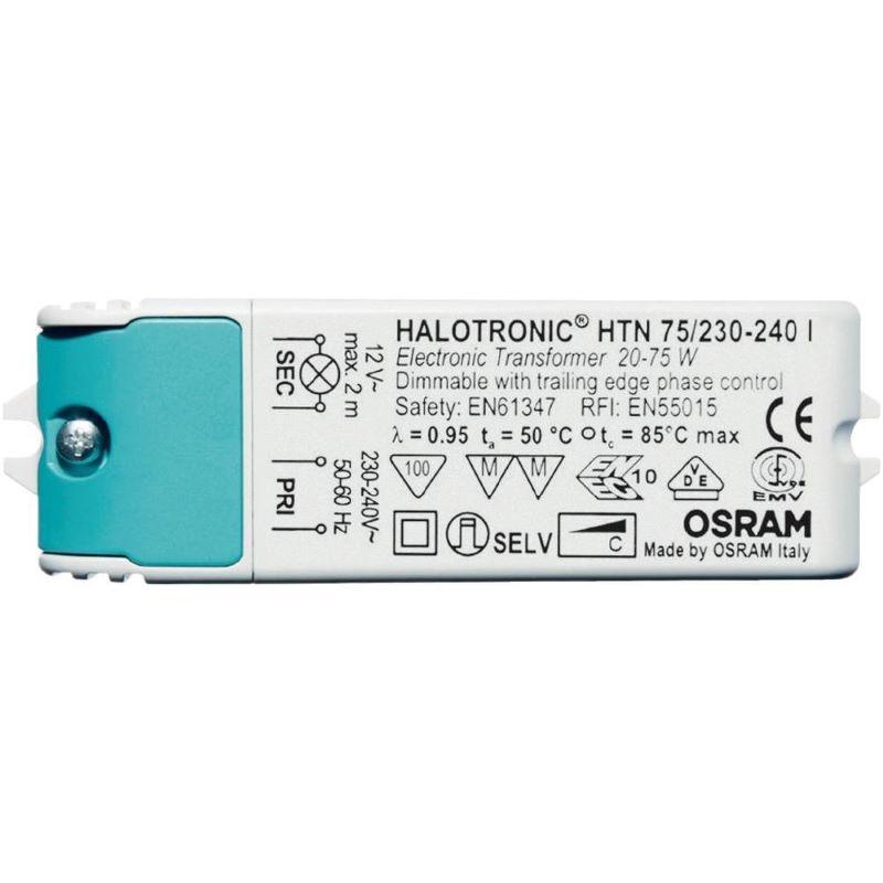 Osram Halotronic Compact - Transformator laagvolt lichtsysteem HTN75
