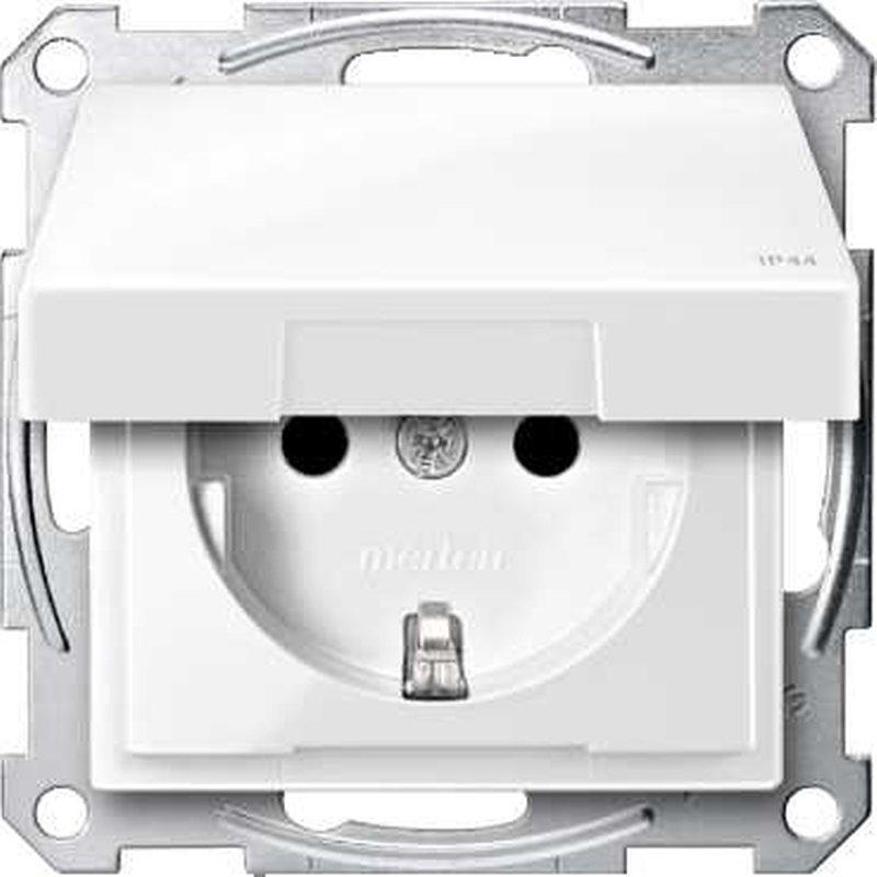schneider electric merten m wandcontactdoos mtn2314 0319. Black Bedroom Furniture Sets. Home Design Ideas