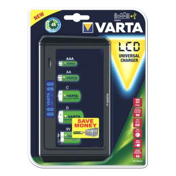 Varta LCD - Batterijlader 57678.101.401
