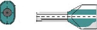 Weidmuller DIN - Adereindhuls H6,0/23D ZHGESV
