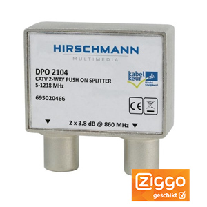 Coax splitter DPO 2104