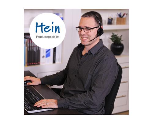 Hein productspecialist