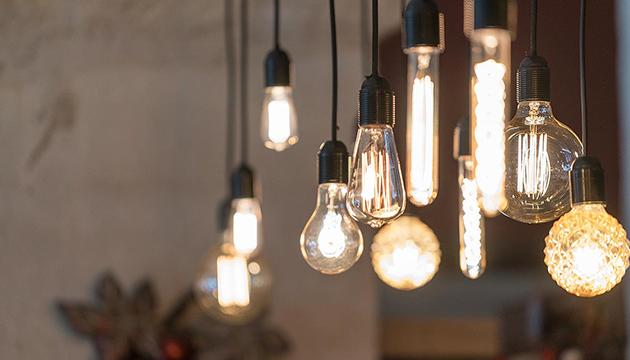 Verschillende lampen