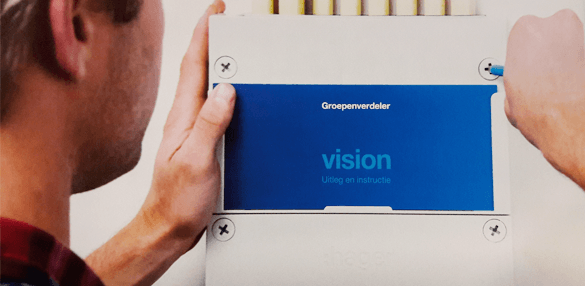 Hager Vision groepenkast consumentenboekje