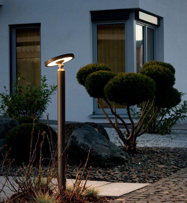 RZB Home 201 tuinlamp in de tuin