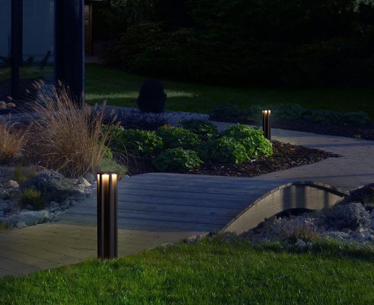 RZB Home 206 tuinlamp in de tuin