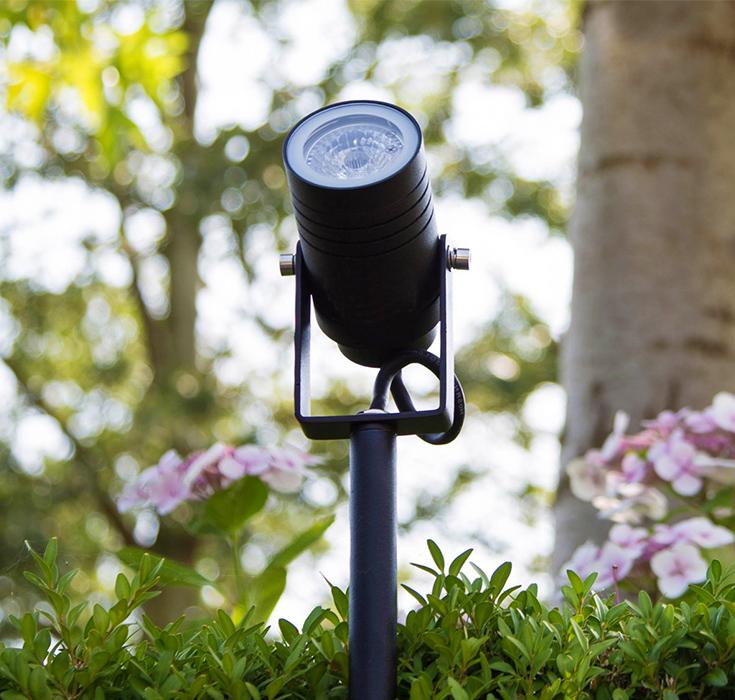 KS Verlichting Beamy tuinspot GARDEN SPIKE GU in de tuin