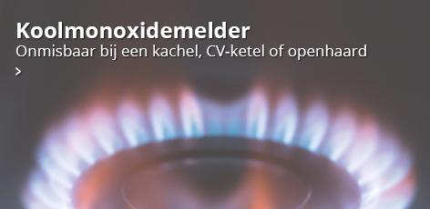 Koolmonoxidemelder: onmisbaar bij een kachel, CV-ketel of openhaard