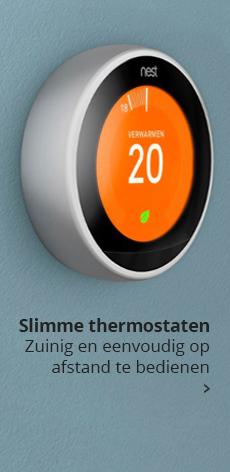 Slimme thermostaten: zuinig en eenvoudig op afstand te bedienen