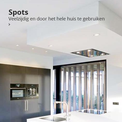 Spots: veelzijdig en door het hele huis te gebruiken